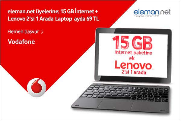 2'si 1 Arada Laptoplarla Eleman.net Üyesi Firmalar Yarına Hazır!