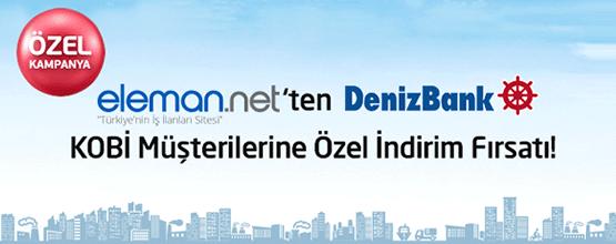 Eleman.net - DenizBank Kampanyası