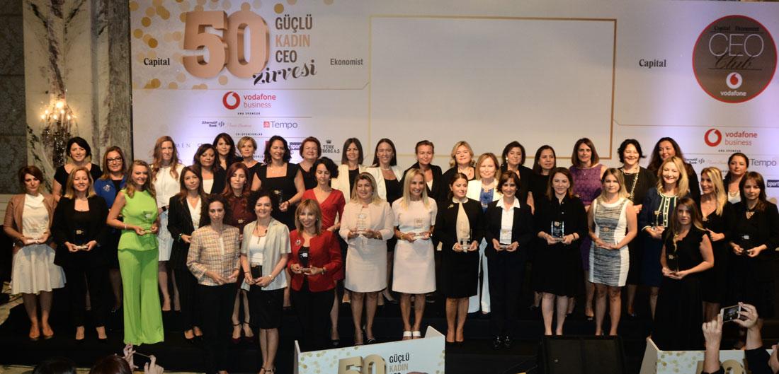 50 Kadın CEO