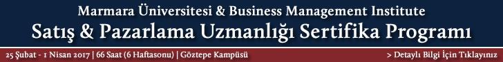 Satış - Pazarlama Uzmanlığı Sertifika Programı